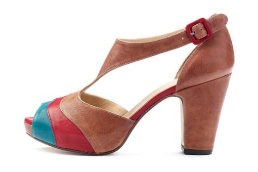 Peep toes de Audley (Elda) perteneciente a su nueva colección de primavera