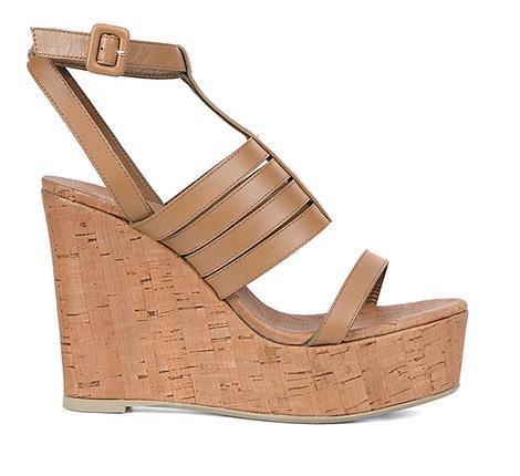 Plataformas con ínfulas de sandalia romana de la nueva