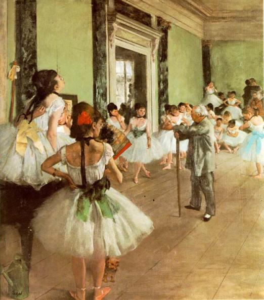 Bailarinas de Edgar Degas