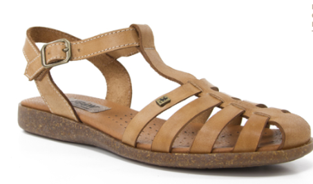 Sandalias de vaquetilla de la nueva colección de primavera de B&W