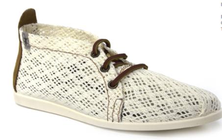 Zapatos de rejilla de la nueva colección de B&W
