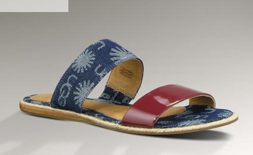 ugg amalia denim modelo botas verano