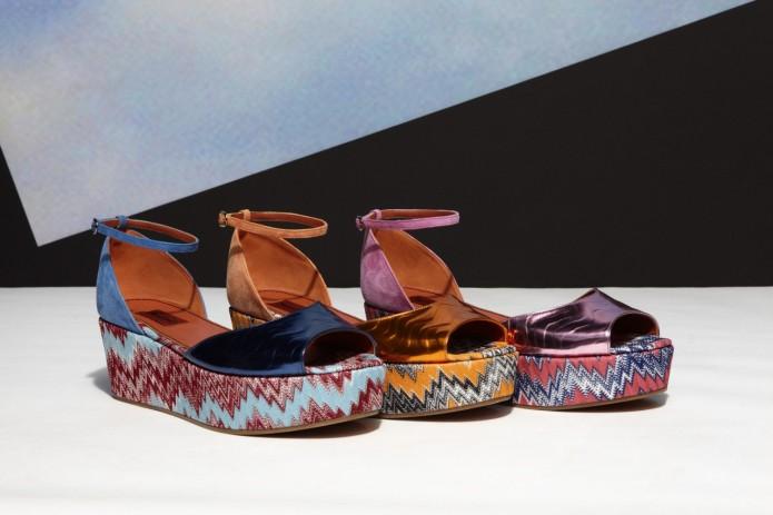 missoni zapatos cuñas colección