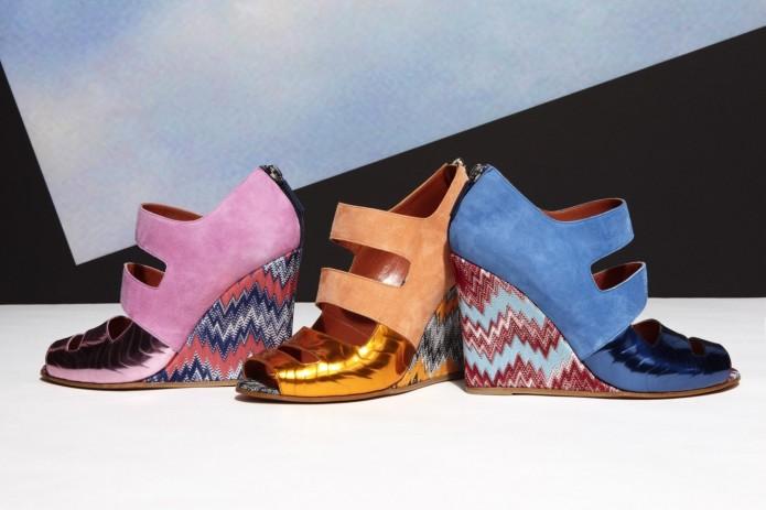 missoni zapatos primavera colección