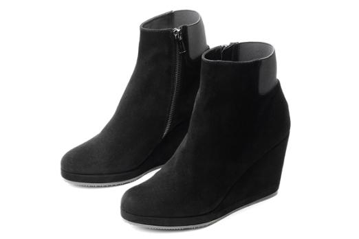Botines de ante negro de Audley Shoes (Elda)