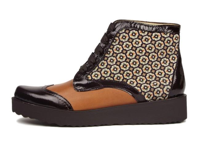 Zapatos con aires de Elvis de la marca SarahWorld sara navarro