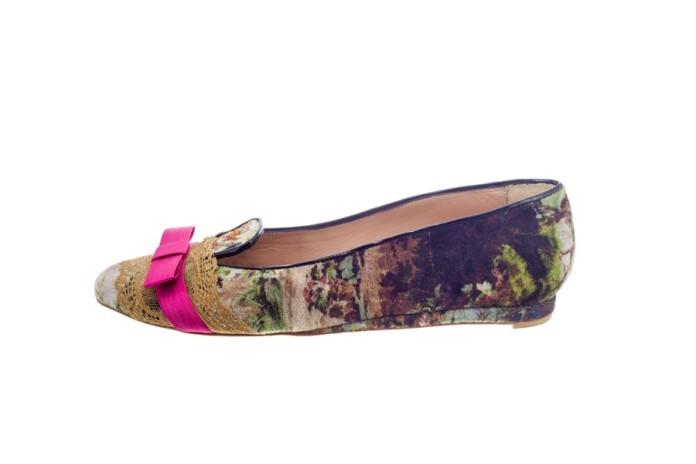 Originales y bonitos slippers de la diseñadora Mónica García