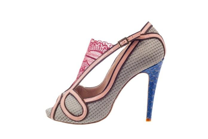 Zapatos de salón de la diseñadora Mónica García