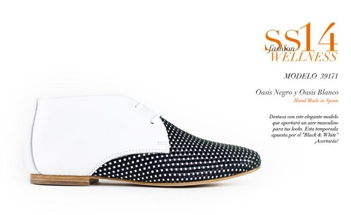 Zapatos con aires masculinos y británicos de Gadea Wellness Shoes