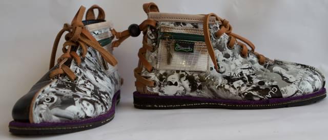 Zapatos únicos y muy originales de la marca canaria Pisaverde