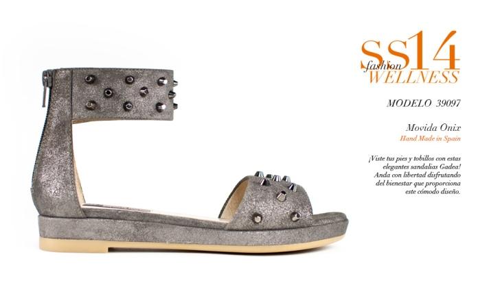 Sandalias de tacón muy cómodas de Gadea Wellness Shoes