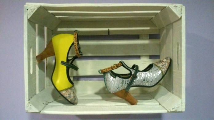 Zapatos artesanos de la marca canaria Pisaverde