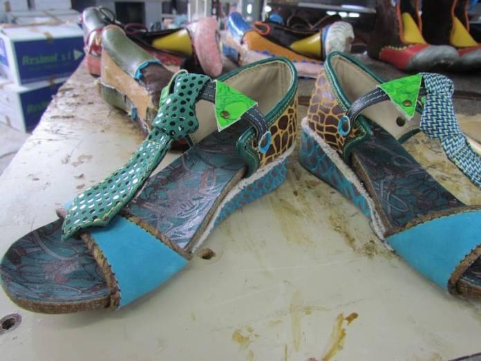 sandalias originales artesanas pisaverde