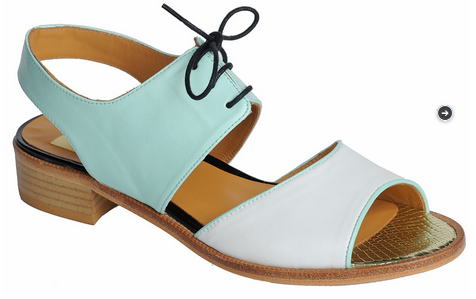 Sandalias de la nueva colección de primavera/verano  2014 de la marca de calzado de Elda Ana Matt