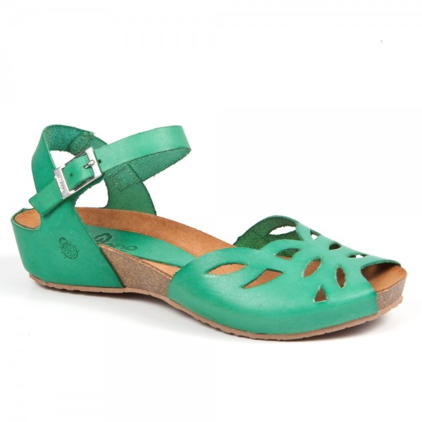 Sandalias ecológicas de la marca de zapatos de mujer Yokono