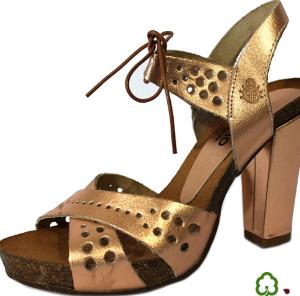 Sandalias ecológicas de la marca de zapatos de señora Yokono