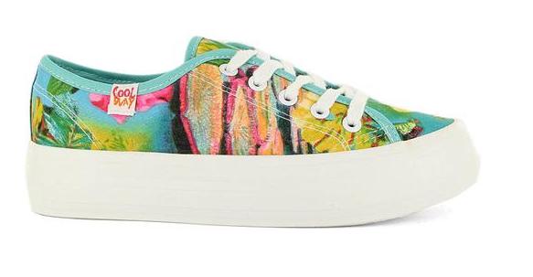 Zapatillas de piso alto de la marca de zapatos Coolway
