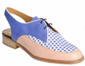 Zapatos destalonados estilo inglés de Ana Matt