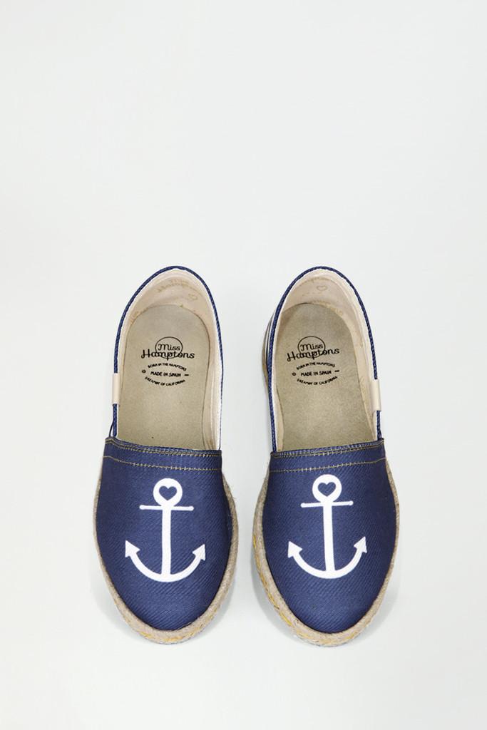 Alpargatas marineras de Miss Hamptons