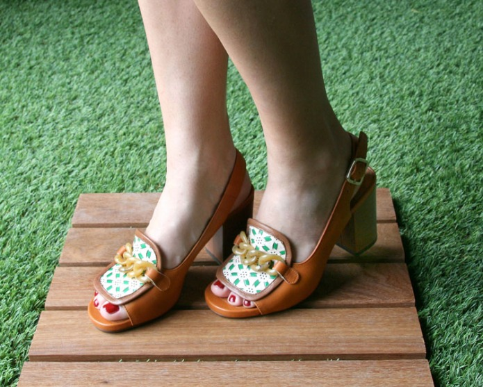 Chie Mihara, sandalias  de su colección