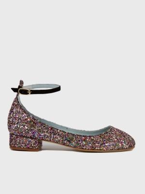 Bailarinas con brillantina de la nueva colección