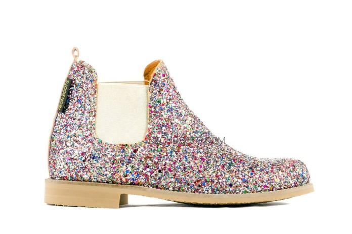 Botas de Neon Boots con brillantina (glitter)