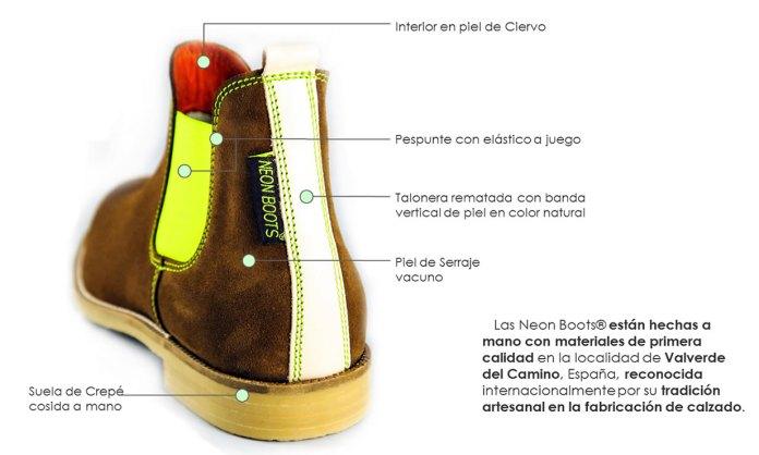 Neon Boots, zapatos artesanales