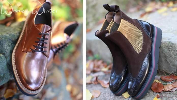 Zapatos masculinos para mujer de la marca Pertini