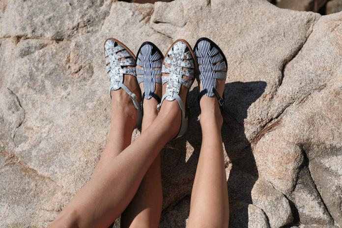 Zapatos de la colección Posidonia de la marca Naguisa