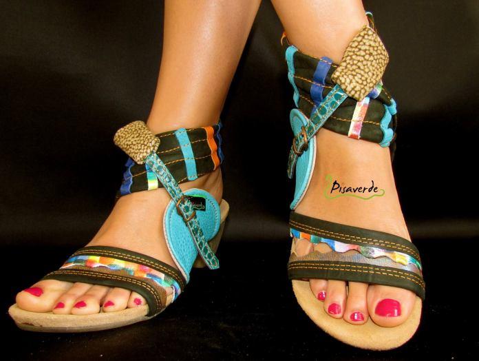 Unos modelos artesanales y muy originales. Pues claro que son originales, son zapatos Pisaverde!!
