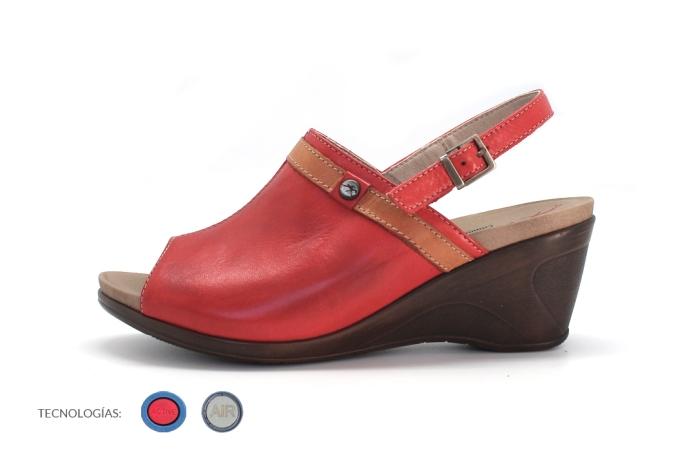 cuñas cómodas calzado Fluchos caminar mucho