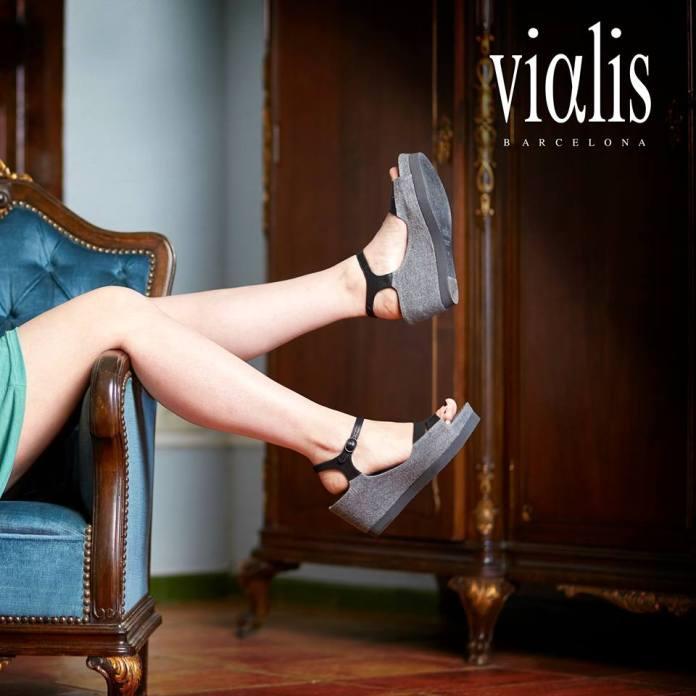Zapatos de la colección de verano Vialis