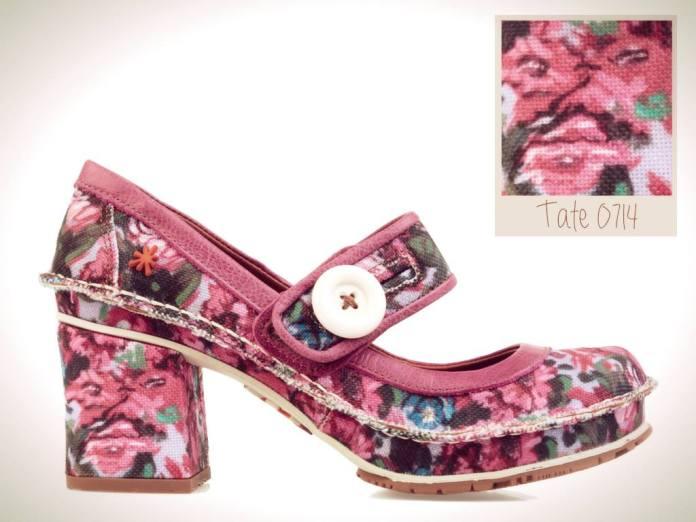 Originales zapatos de la colección de verano de The Art Company