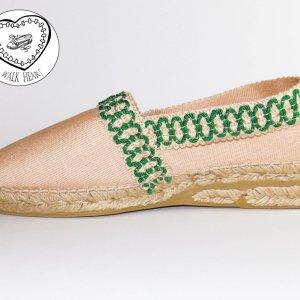 Alpargatas sumamente artesanales de Walk Heart