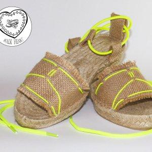 Alpargatas artesanales de la firma Walk Heart